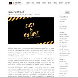 Just and Unjust - Marilyn Taplin