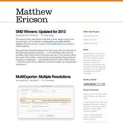 Matthew Ericson – ericson.net