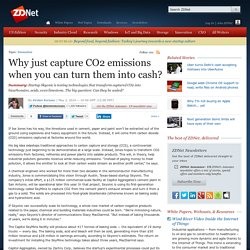 Why just capture CO2 emissions when you can turn them into cash? - SmartPla