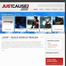 Just Cause 2 Mods