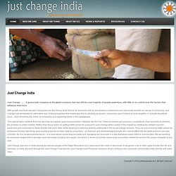 Just Change India - Welcome to JC