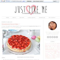 * JUST LIKE ME ❤: Strawberry Cocos Cake ♡