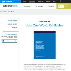 Just One Word- Refillables