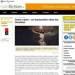 Juste Lipse : un humaniste chez les Jésuites