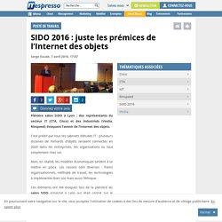 SIDO 2016 : juste les prémices de l'Internet des objets