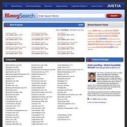 Justia Blawg Search - Law Blogs, Lawyer Blogs, Legal Blogs Directory & Search Engine