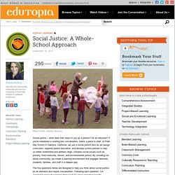 Social Justice: A Whole-School Approach