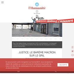 Justice. Le barème Macron sur le gril