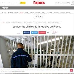 Justice: les chiffres de la récidive en France