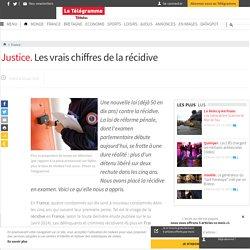 France - Justice. Les vrais chiffres de la récidive