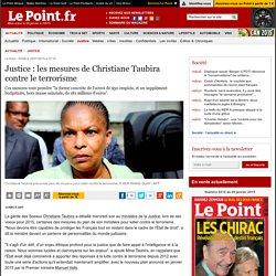 Justice : les mesures de Christiane Taubira contre le terrorisme