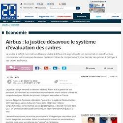 Airbus : la justice désavoue le système d'évaluation des cadres