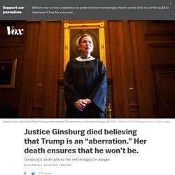 The incomparable and notorious RBG