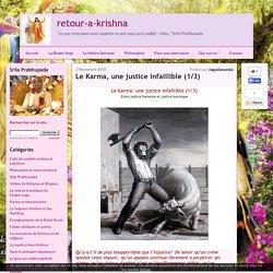 Le Karma, une justice infaillible (1/3) - retour-a-krishna