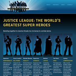 Justice League: The World's Greatest Super Heroes | We Can Be Heroes