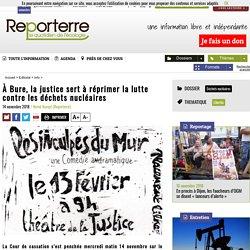 À Bure, la justice sert à réprimer la lutte contre lesdéchets nucléaires
