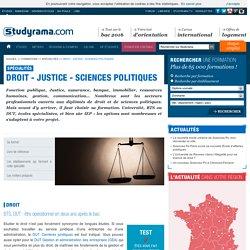 Droit - Justice - Sciences Politiques