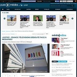 Justice : France Télévisions débouté face à Mediapart