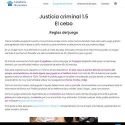 JUSTICIA CRIMINAL 1.5 (45 min. / 2 jugadores)
