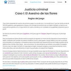 JUSTICIA CRIMINAL (60 min. / 2 jugadores)