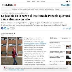 La justicia da la razón al instituto de Pozuelo que vetó a una alumna con velo