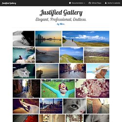 Justified Gallery