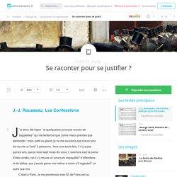 Rousseau texte et questions