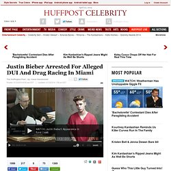 Justin Bieber Arrested For DUI And Drag Racing In Miami