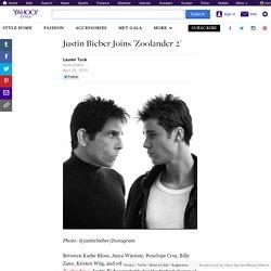Justin Bieber Joins 'Zoolander 2'