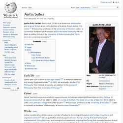 Justin Leiber