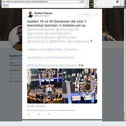 "Gordon Freeman on Twitter: ""hadden 18 vd 36 Senatoren die vóór 't leenstelsel stemden 'n dubbele pet op @MarnixAmperse @stevenophoff @graafilse @JustinHendriks @AnneSchakelaar @Polvander @IrenetvGLD @MartGrol @sonjabooms ?"