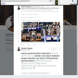 """Gordon Freeman on Twitter: """"waren parlementaire redactie's @NOS @RTLnieuws eerder over deze dubbele petten kwestie van deze 18 Senatoren geïnformeerd @MarnixAmperse @stevenophoff @graafilse @JustinHendriks @AnneSchakelaar @Polvander ?"""