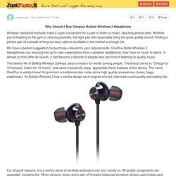 One plus Bullet Wireless 2 Headphone