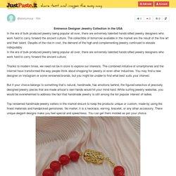 Designer Jewelry Collection USA