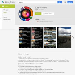 JustPictures! - Android Apps on Google Play
