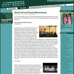 Blog: Street Art and Social Movements