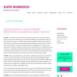 JustWondering — Kath Murdoch