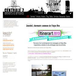 Juvardeil, charmante commune de l'Anjou Bleu - Centrale 7 // ateliers d'artistes