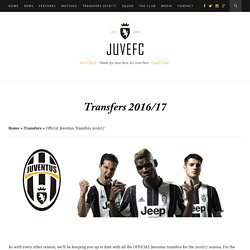 Juventus Transfers