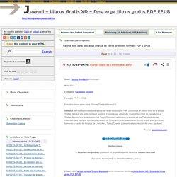 Juvenil – Libros Gratis XD – Descarga libros gratis PDF EPUB
