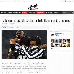 La Juventus, grande gagnante de la Ligue des Champions