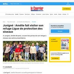 Juvigné : Amélie fait visiter son refuge Ligue de protection des oiseaux