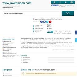 www.juwitamoon.com Site Stats Info