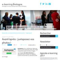 Avant/après : juxtaposez vos photos ! - e-learning Bretagne