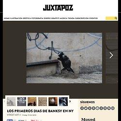 Los primeros dias de Banksy en NY
