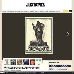 Vintage Dutch Safety Posters
