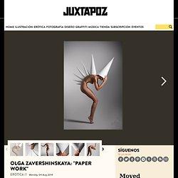 "Olga Zavershinskaya: ""El trabajo de papel"