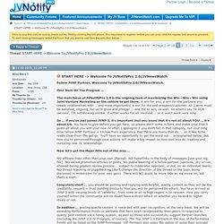 START HERE -> Welcome To JVNotifyPro 2.0/JVNewsWatch