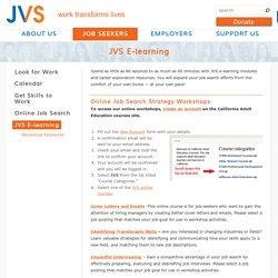 JVS E-learning
