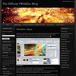 The Official JWildfire Blog